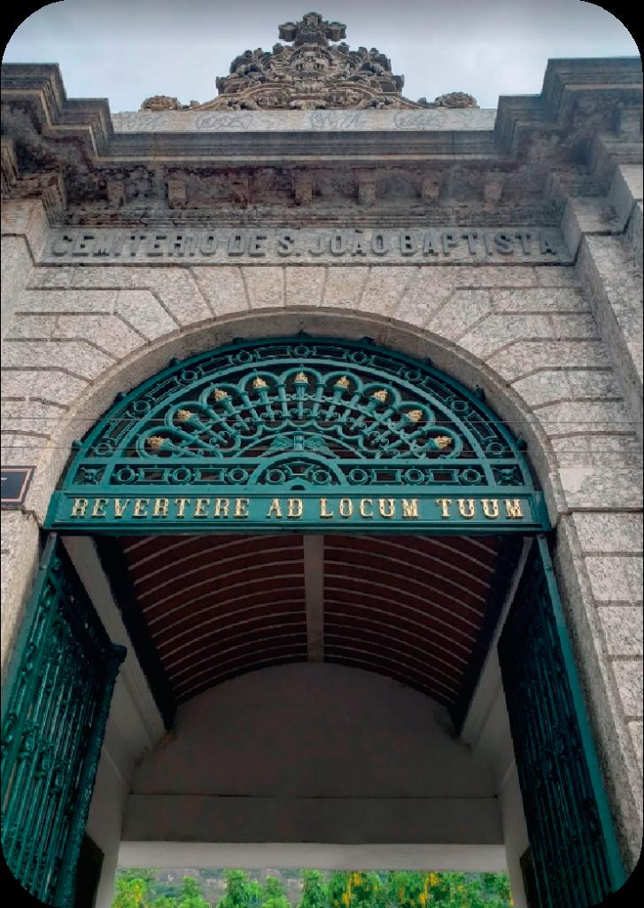 localização cemiterio sao joao batista rj